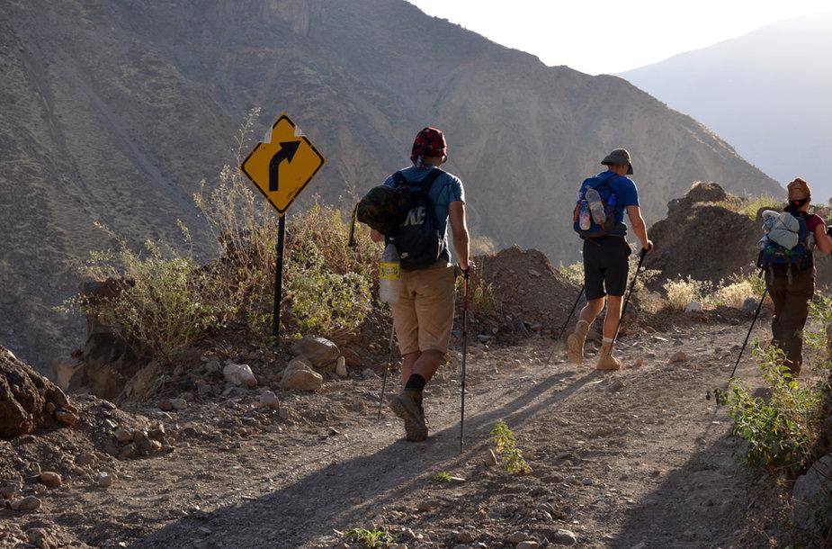Žygis Anduose