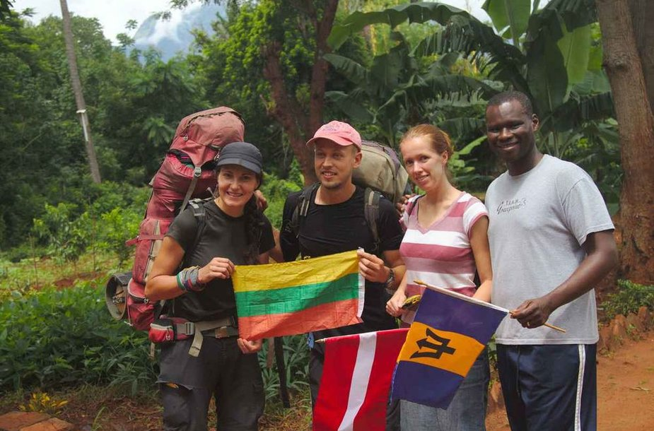 Misionieriai: Santa iš Latvijos ir Kevinas iš Barbadoso