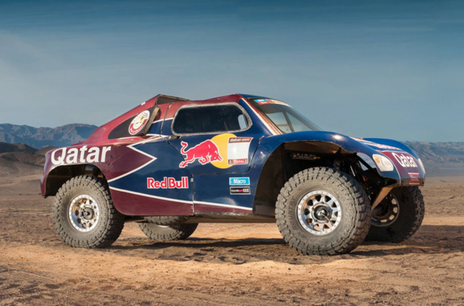 """Qatar Red Bull Rally Team"" bagis"