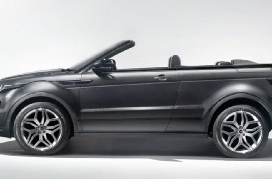 """Land Rover Evoque"" kabrioletas"