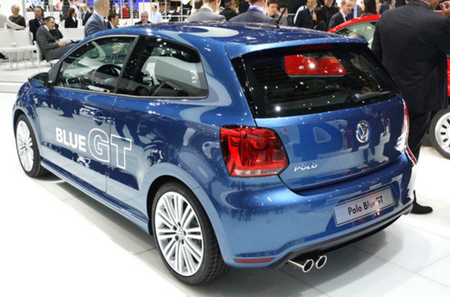 """VW Polo Blue GT"""