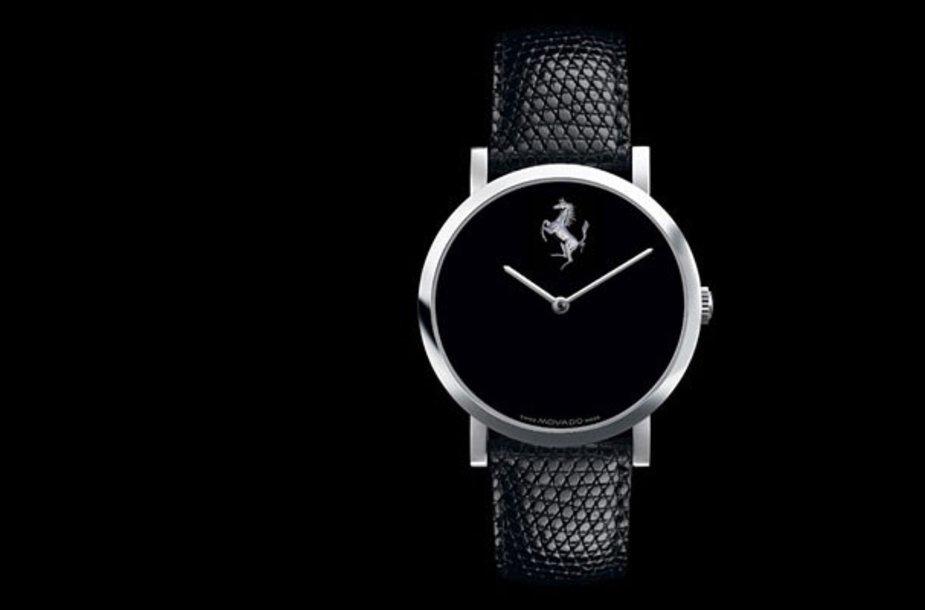 """""""Ferrari"""" ir """"Movado"""" kurs naują laikrodžių liniją"""