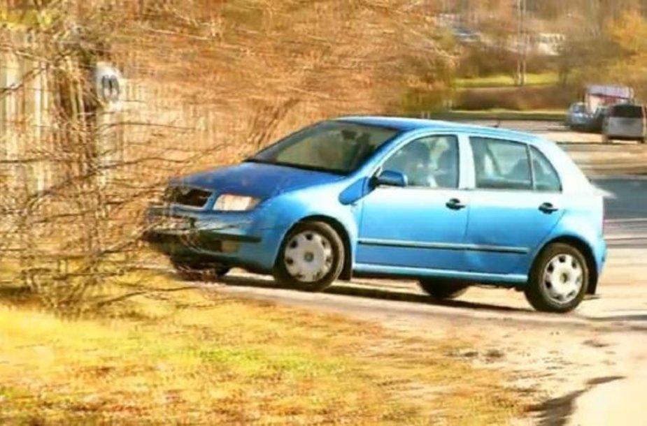 """Naudota """"Škoda Fabia"""""""