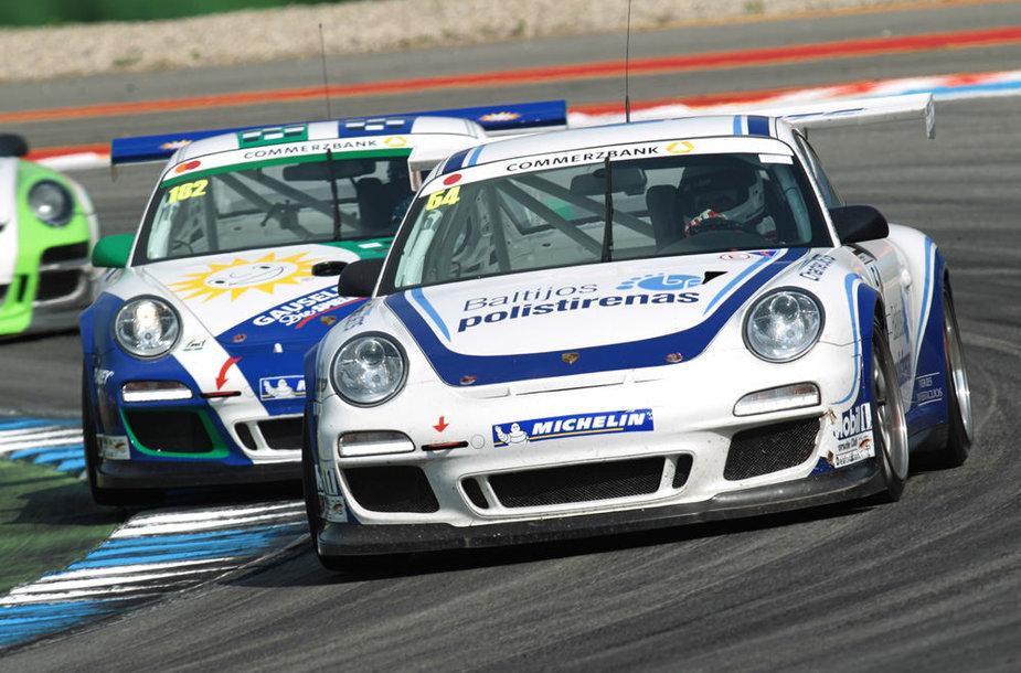 """15min – General Financing"" komandos automobilis ""Porsche 911 GT3 Cup"""