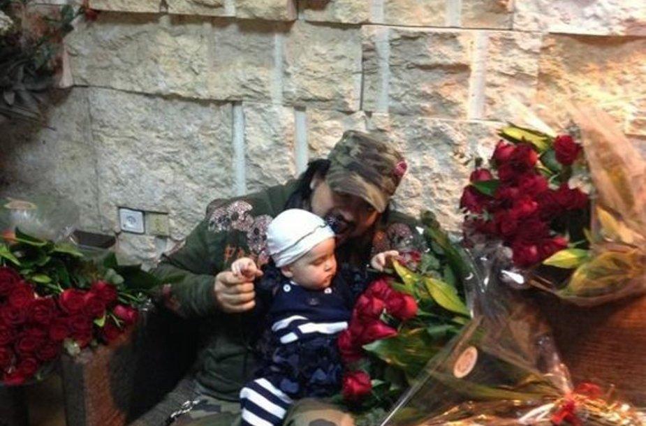 Филипп Киркоров с дочерью.
