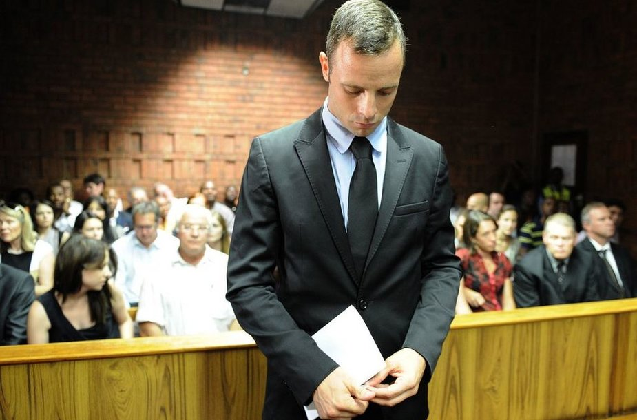 Оскар Писториус в суде