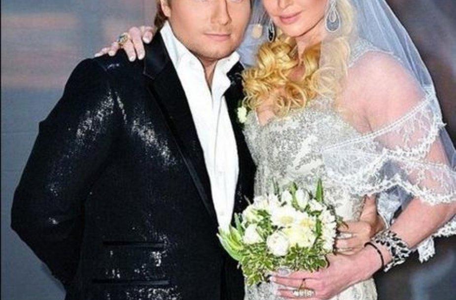 Николай Басков и Анастасия Волочкова