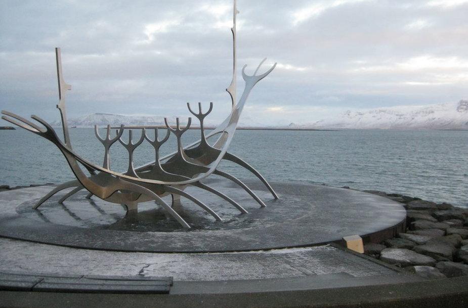 Islandijoje net paminklais skirti žuvims
