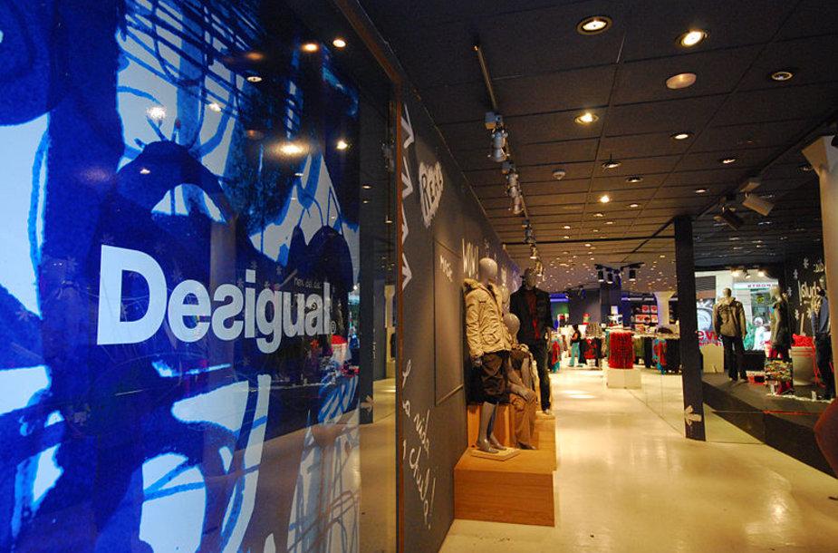 """""""Desigual"""" parduotuvės veikia daugelyje pasaulio sostinių"""