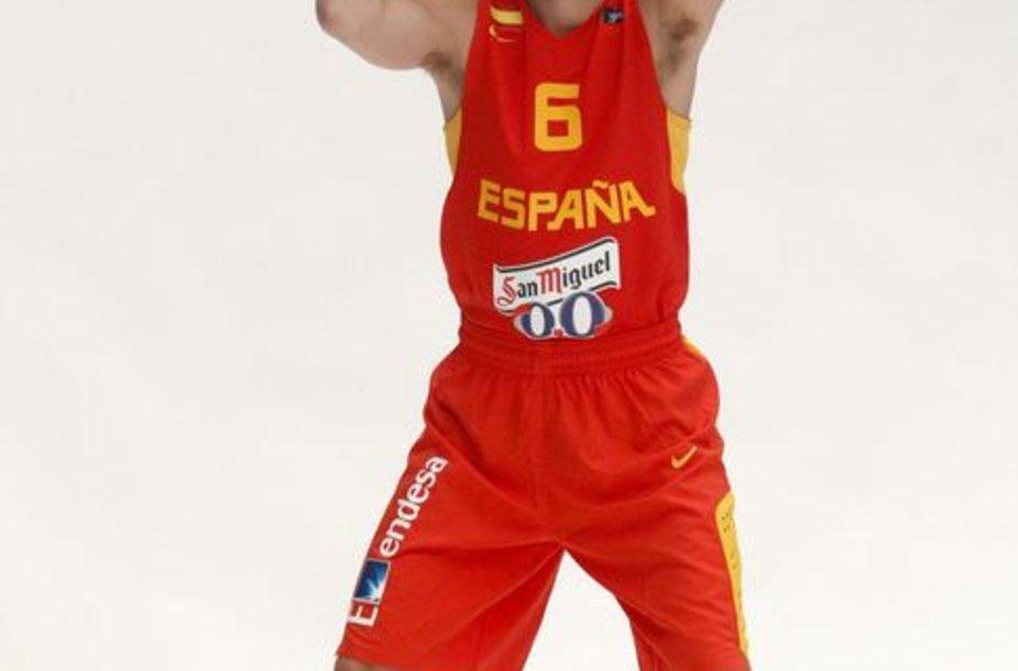 Ispanijos rinktinės įžaidėjas Sergio Rodriguezas