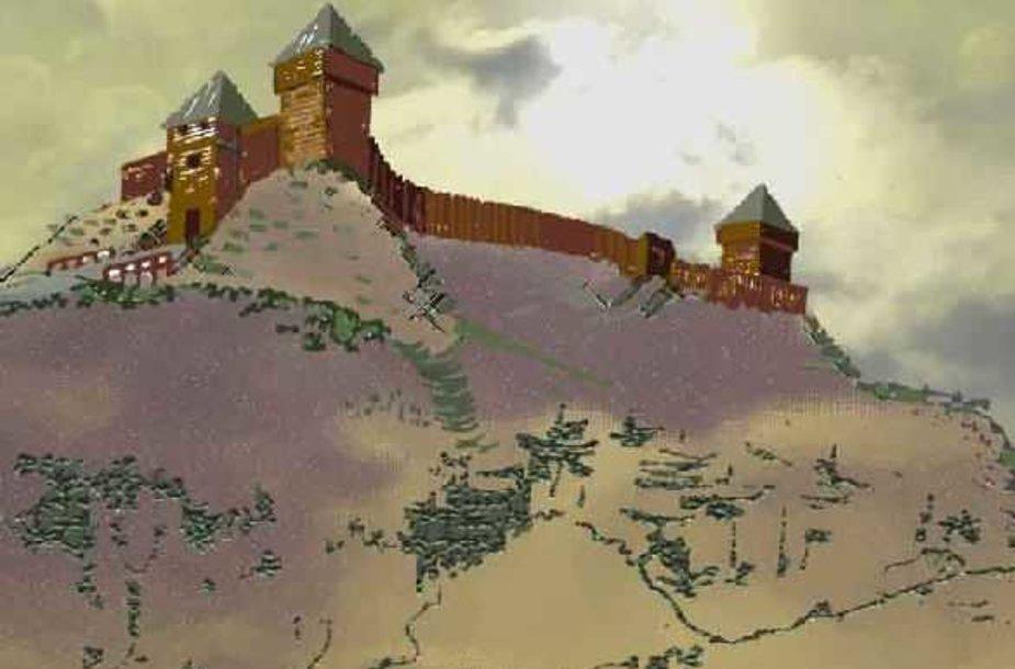 Medinę pilį turėjusi PUnia, kurioje žiemas leisdavo Vytautas, burgundui pasirodė didelis miestas