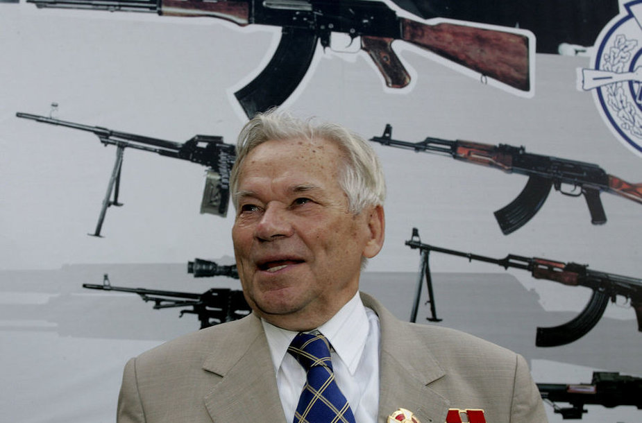 Михаил Калашников, создатель легендарного автомата