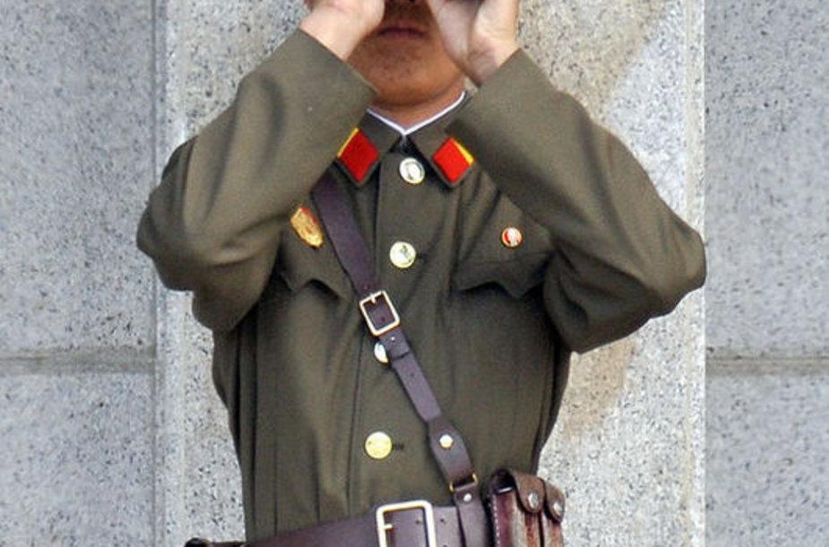 Корейский солдат