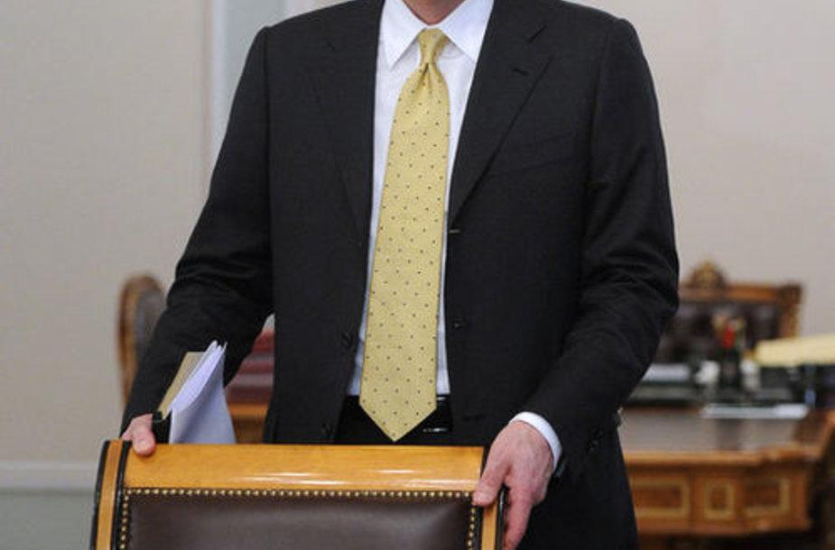 Пресс-секретарь В. Путина Дмитрий Песков