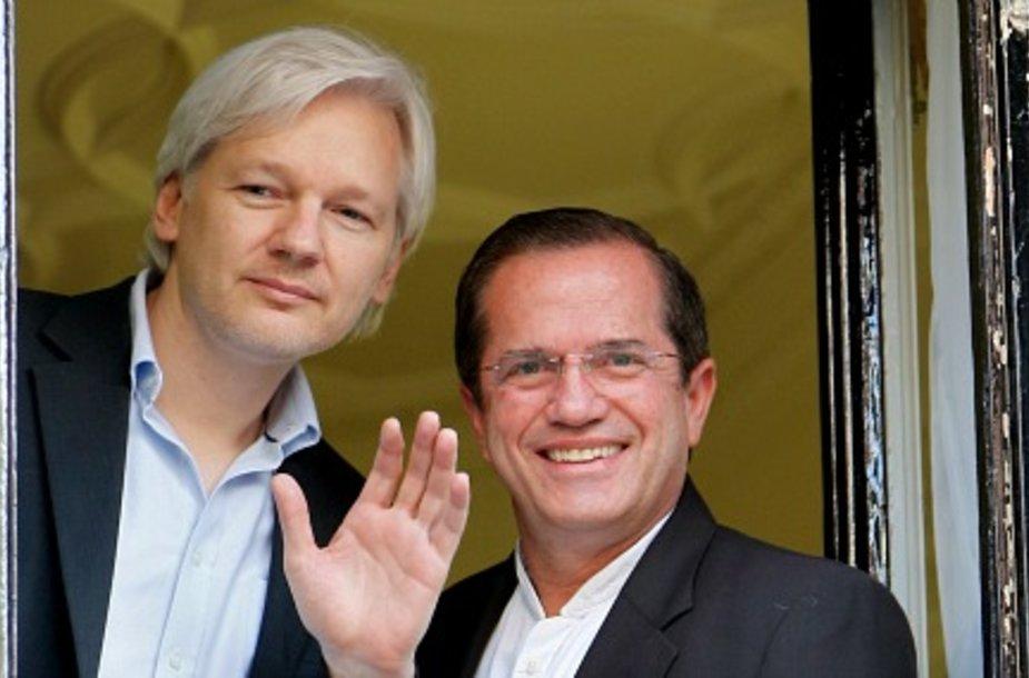Ассанж приготовился остаться в посольстве Эквадора на пять лет