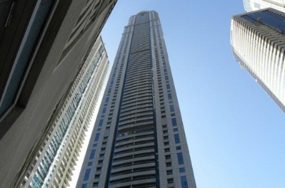 В самом высоком жилом доме сломались лифты