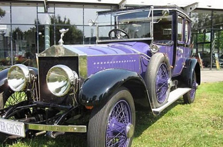 Фиолетовый Rolls-Royce Николая II опять продают - за 7 млн