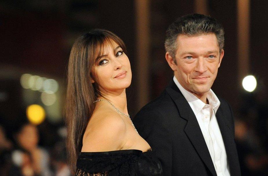 Monica Bellucci ir Vincentas Casselis