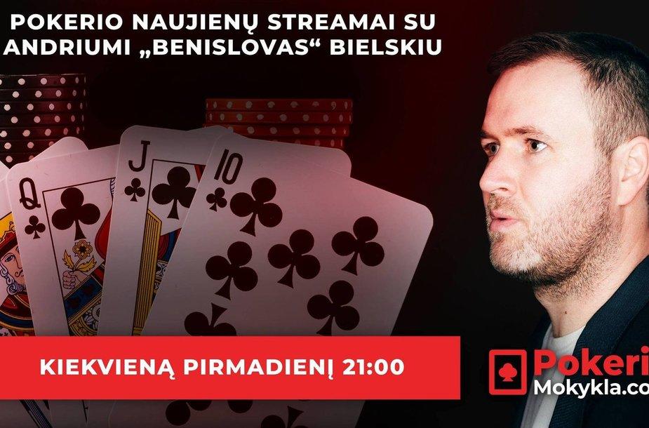 Pokerio naujienos su Andriumi Bielskiu