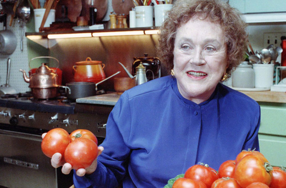 Legendinė kulinarė Julia Child