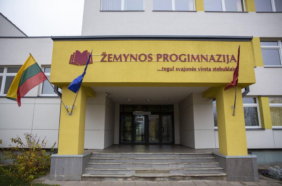 Streikas Vilniaus Žemynos progimnazijoje