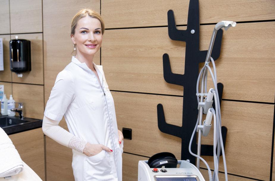 Čiurlionio estetinės dermatologijos klinikos vadovė Lina Jokubauskienė