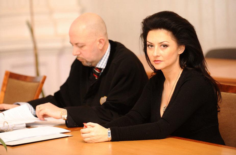 Irma Jurgelevičiūtė ir Vytautas Sirvydis