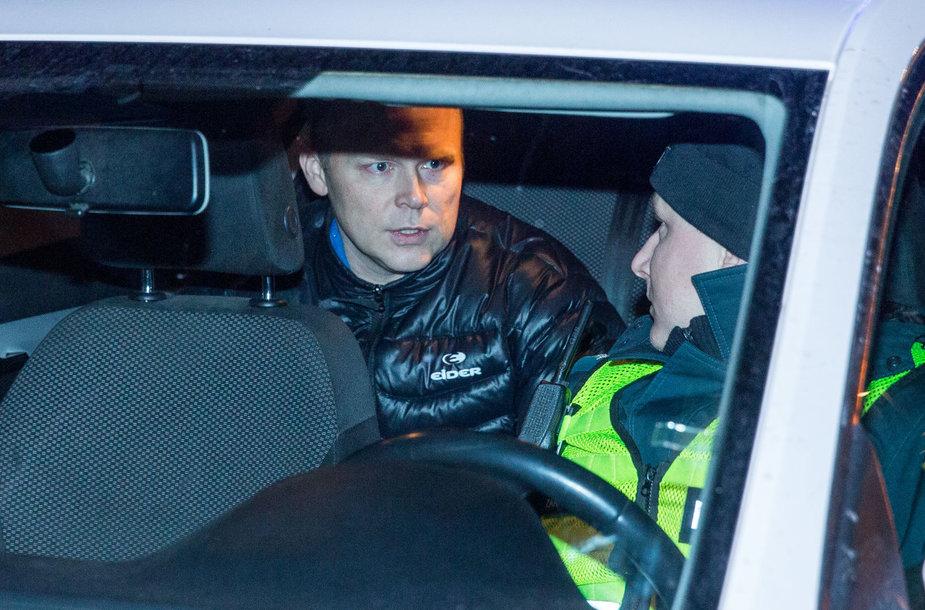 Naktinis kelių policijos reidas