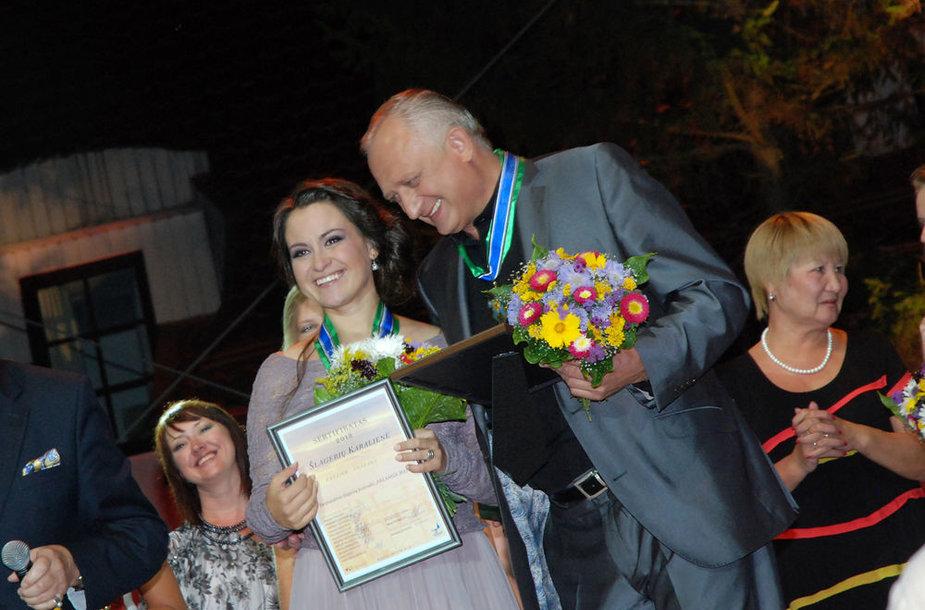 Evelina Sašenko ir Romas Bubnelis