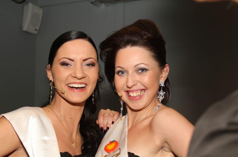 Vilma Gecevičiūtė (kairėje)