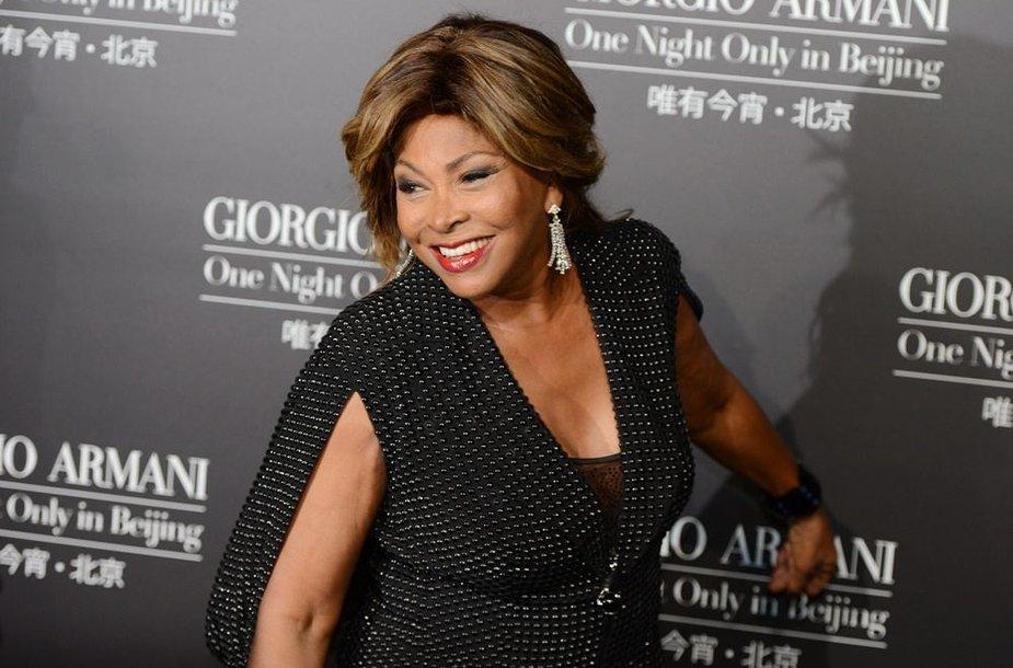 Dainininkė Tina Turner