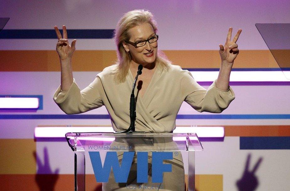 Aktorė Meryl Streep