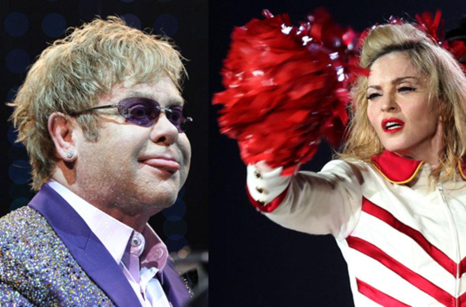 Eltonas Johnas ir Madonna