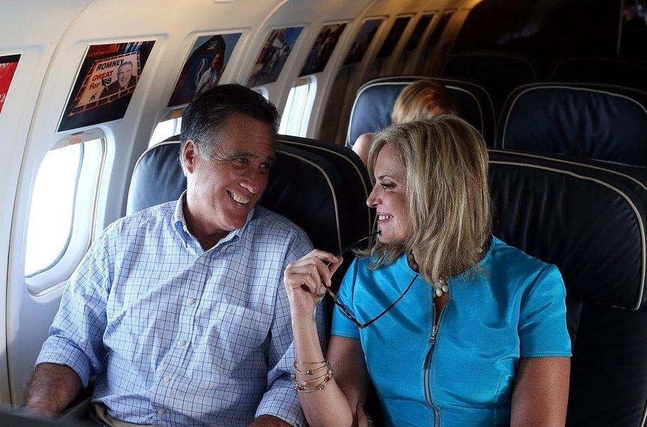 Ann ir Mittas Romney