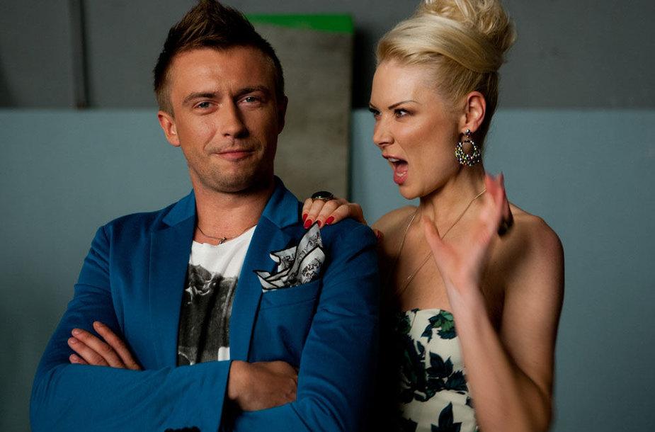 Natalija Bunkė ir Marius Jampolskis