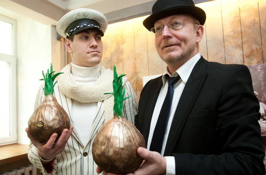 Justinas Jankevičius ir Arūnas Valinskas
