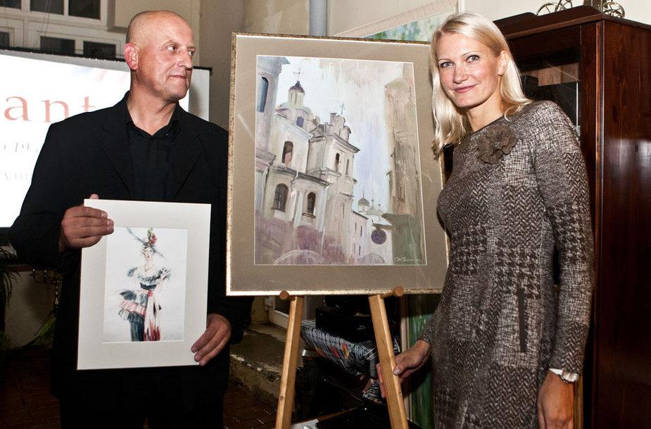Arvydas Vaičiūnas ir Svetlana Ovinova
