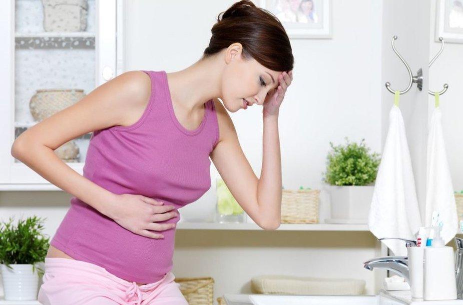 Bloga nėščiosios savijauta