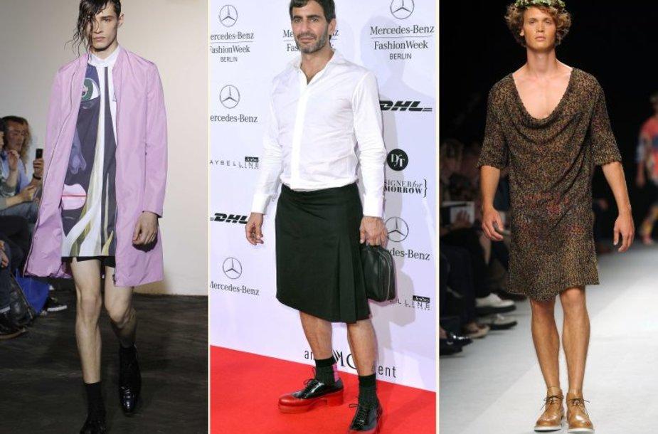 Vyrai su sijonais