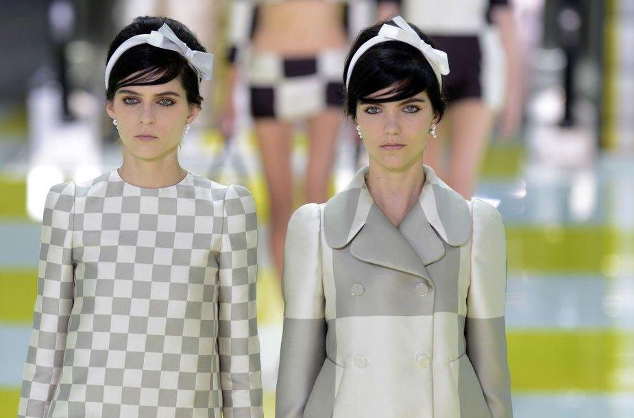 """""""Louis Vuitton"""" pavasario/vasaros 2013 m. kolekcija, Paryžiaus mados savaitė."""