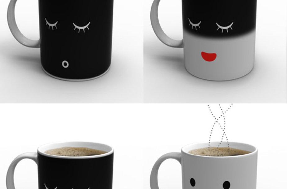 Kava su šypsena