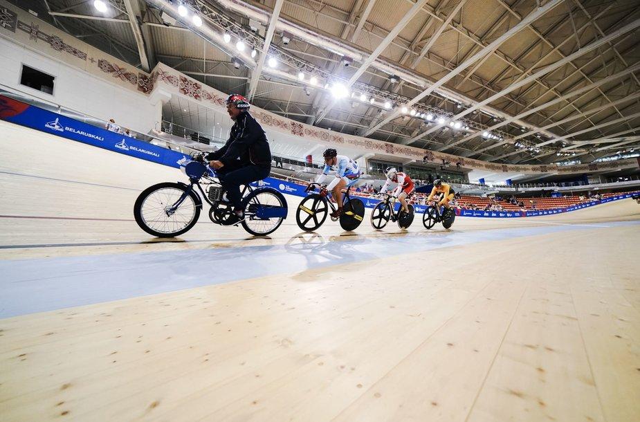Dviračių treko varžybos Europos žaidynėse