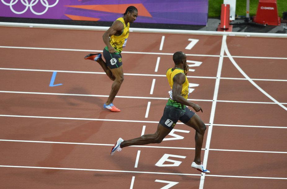 Johanas Blake'as ir Usainas Boltas