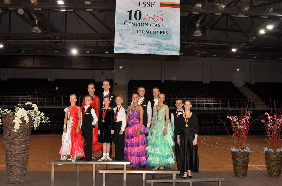 Sportinių šokių čempionai