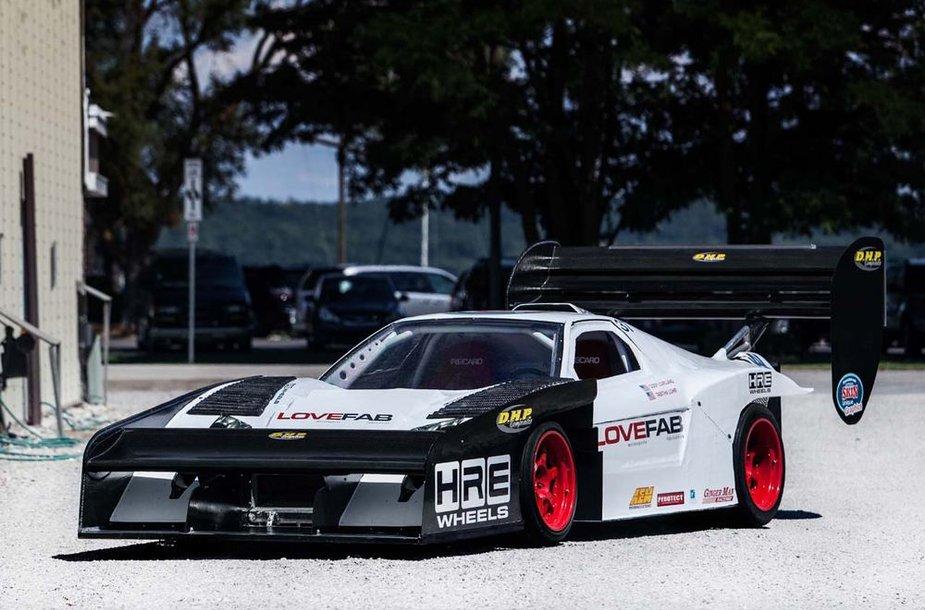 LoveFab Acura NSX paruošta Pikes Peak kalnų lenktynėms