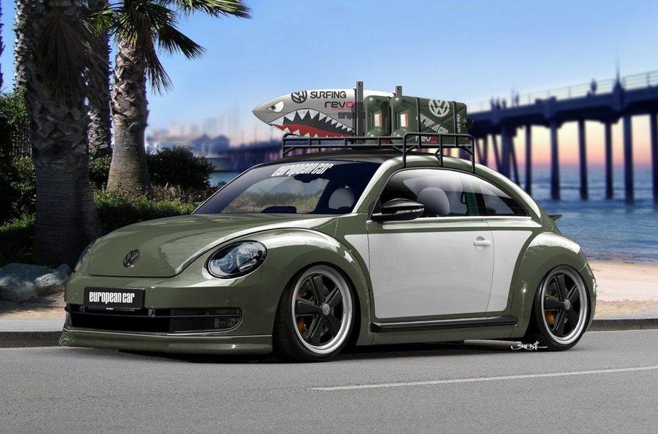 "SEMA parodai paruoštas ""Volkswagen Beetle"""