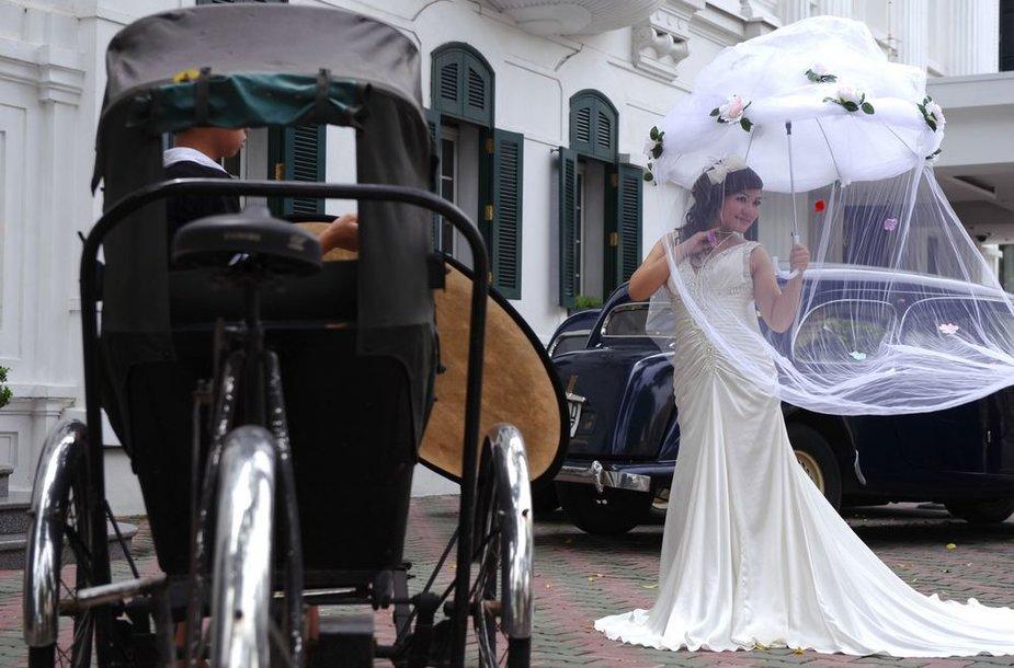 Vestuvės Hanojuje