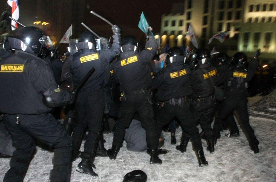 Baltarusijos policija