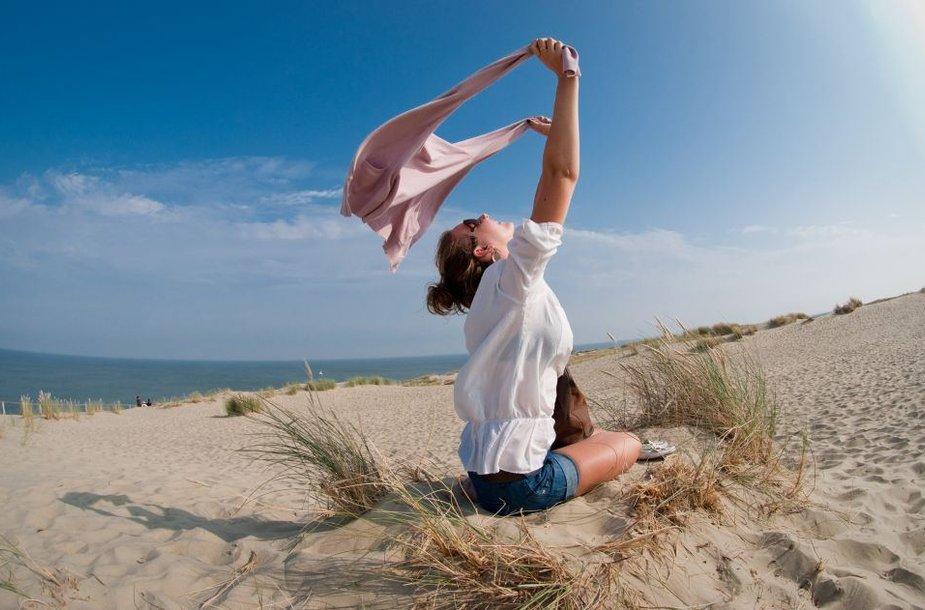 Vėjas paplūdimyje