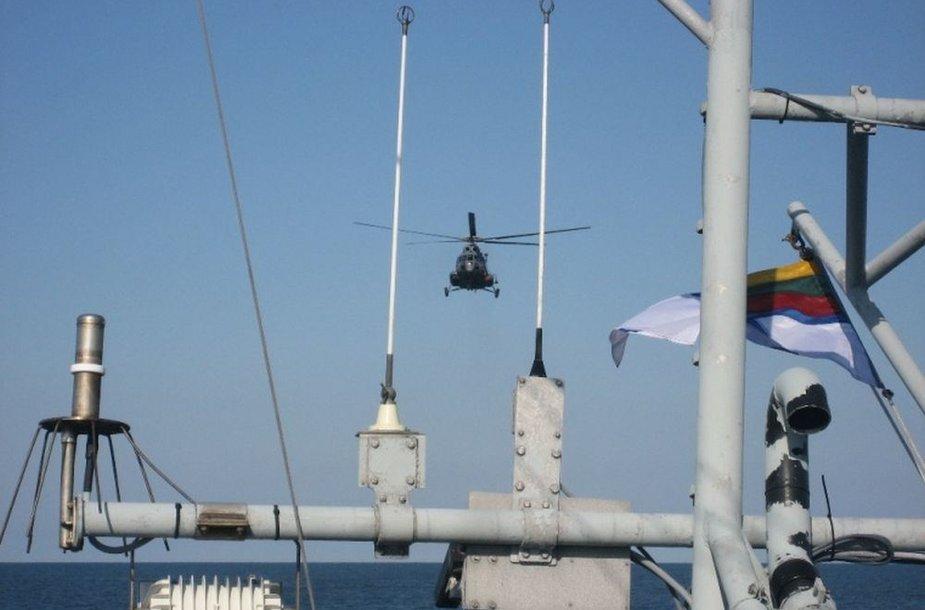 Integruota jūros stebėjimo sistema